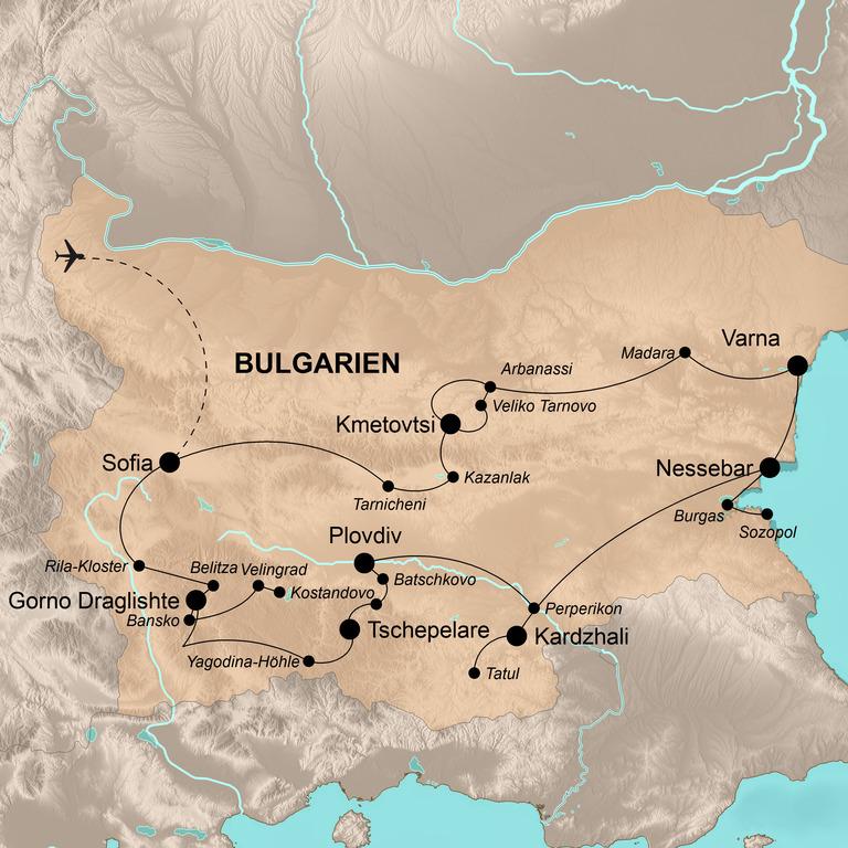 Bulgarien – Unbekannter Balkan