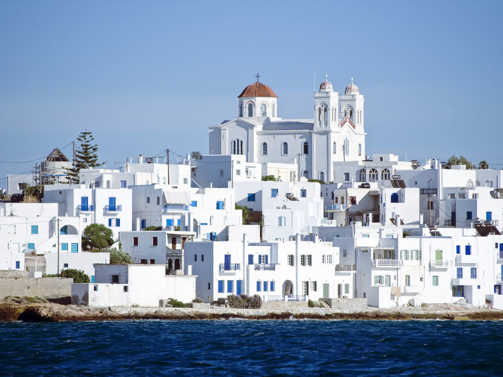 Santorin – Paros: vormittags Freizeit, nachmittags Fährüberfahrt nach Paros