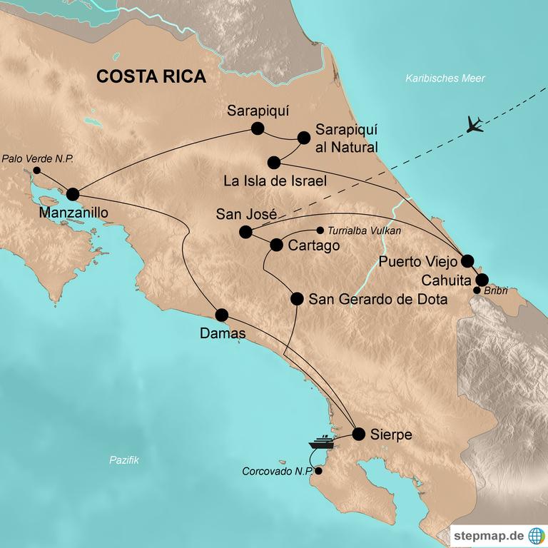 Costa Rica – Das Land auf neuen Wegen entdecken