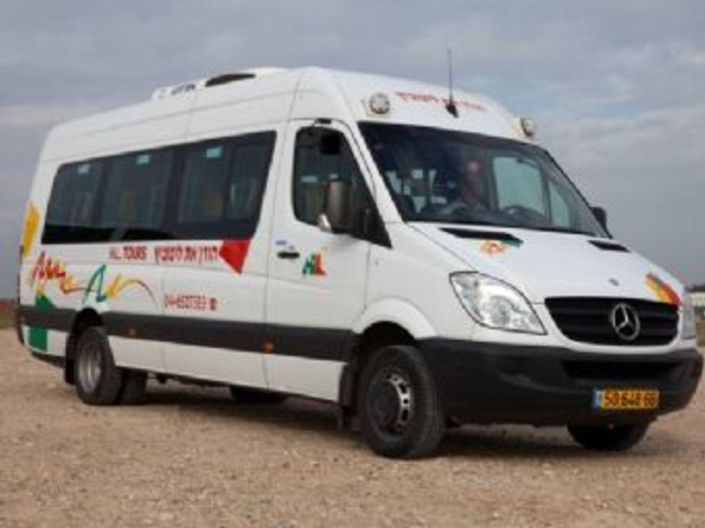 Einer unserer Busse in Israel