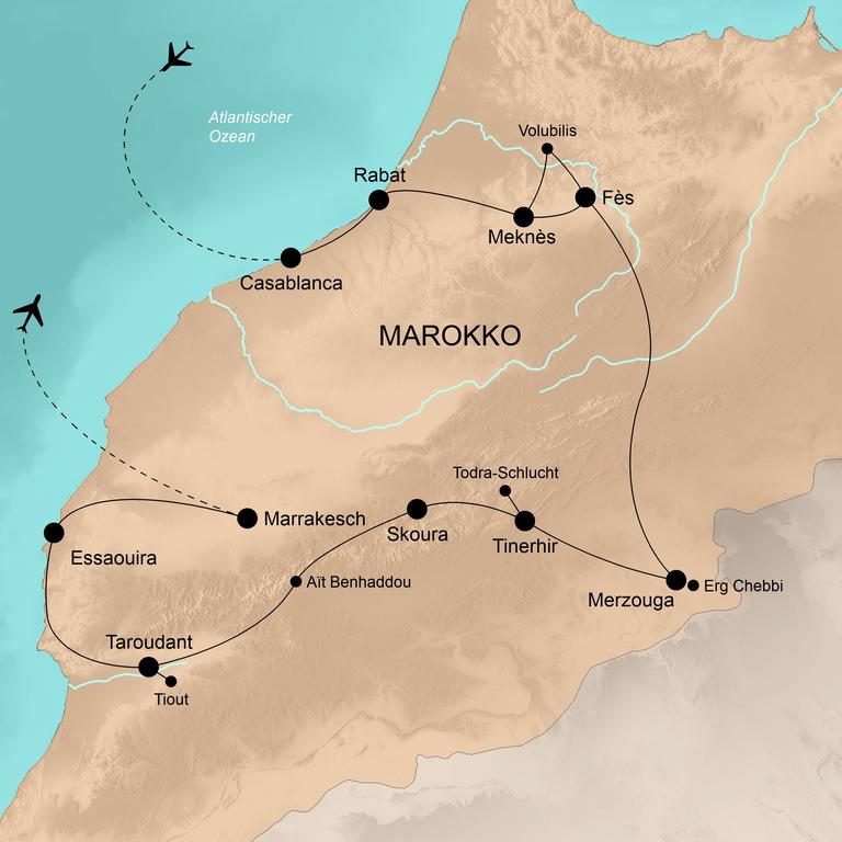 Marokko –