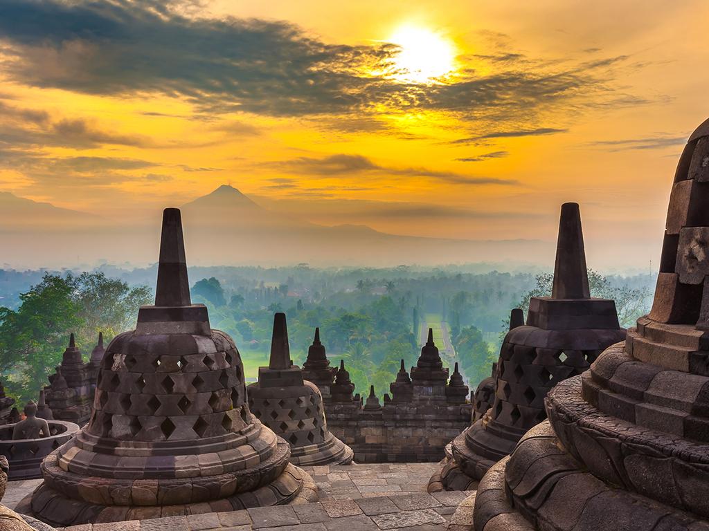 Wonosobo – Dieng-Plateau – Borobudur – Yogyakarta: Besuch des Dieng-Plateaus, Besichtigung des UNESCO-Weltkulturerbe Borobudur