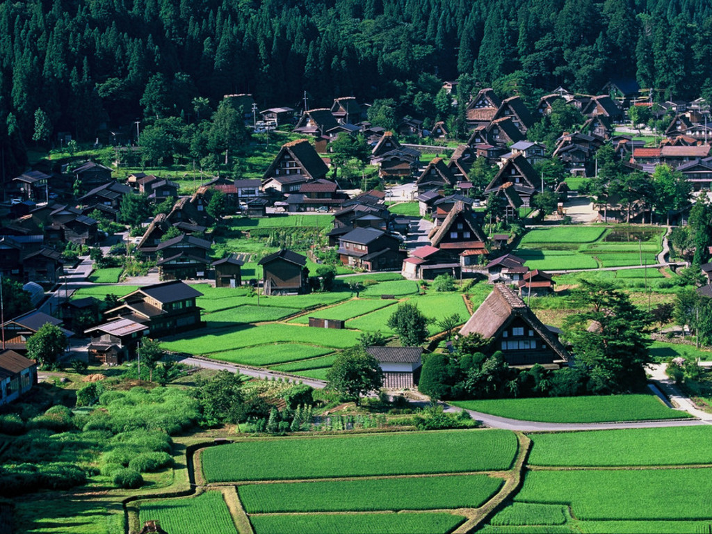 Minshuku in Shirakawago