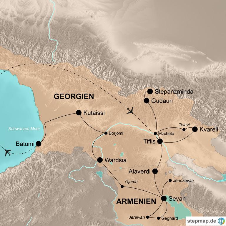 Georgien und Armenien – Abenteuer Kaukasus