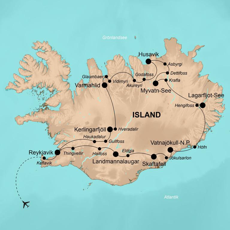Island – Zwischen Vulkanen und Eisbergen