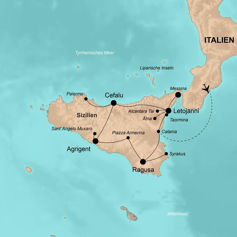 Italien: Sizilien – Die Sonneninsel intensiv entdecken