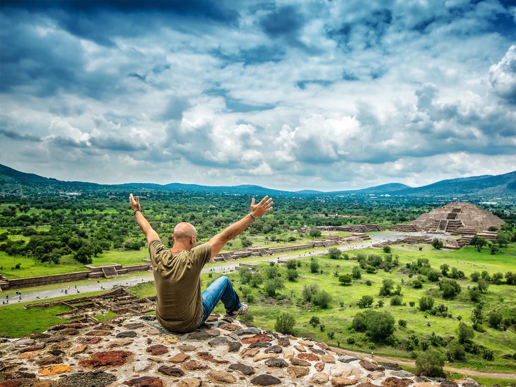 "Mexiko-Stadt – Teotihuacán – Mexiko-Stadt: Teotihuacán und Basilika ""Virgen de Guadalupe"""