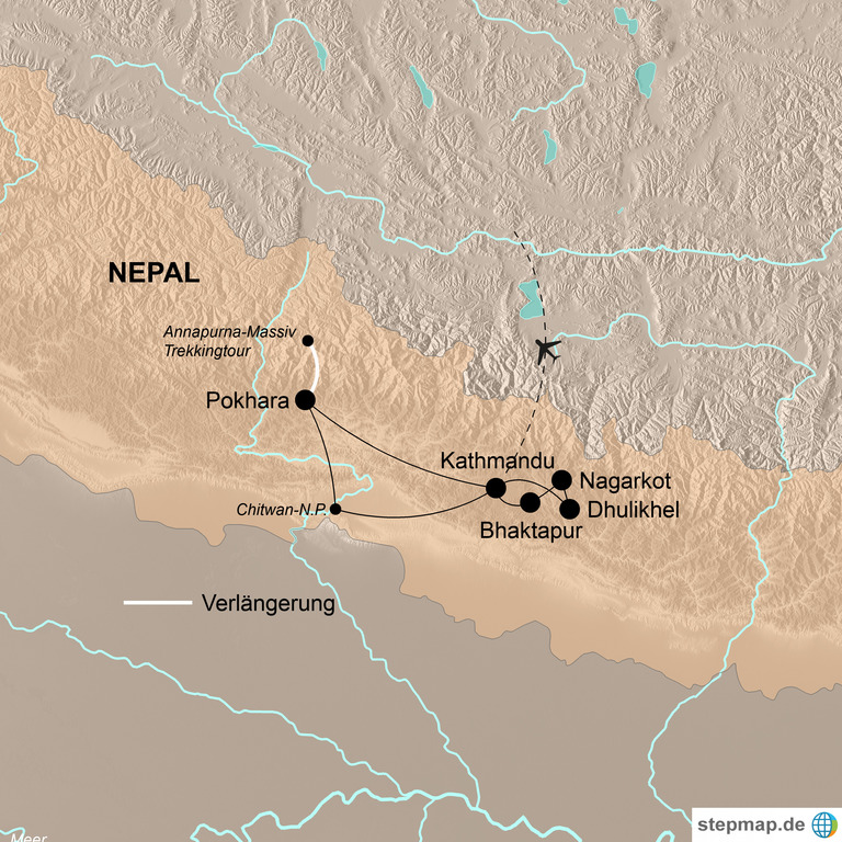 Nepal – Natur und Kultur pur im Auge des Himalaya