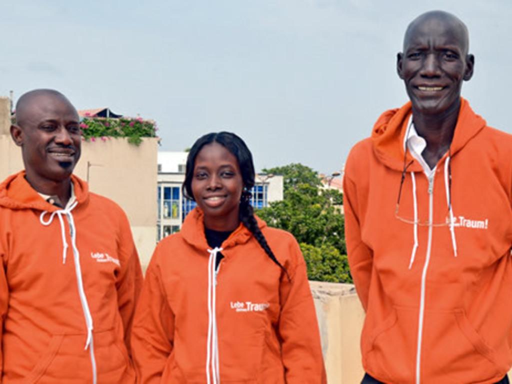 Unser Team im Senegal und in Gambia