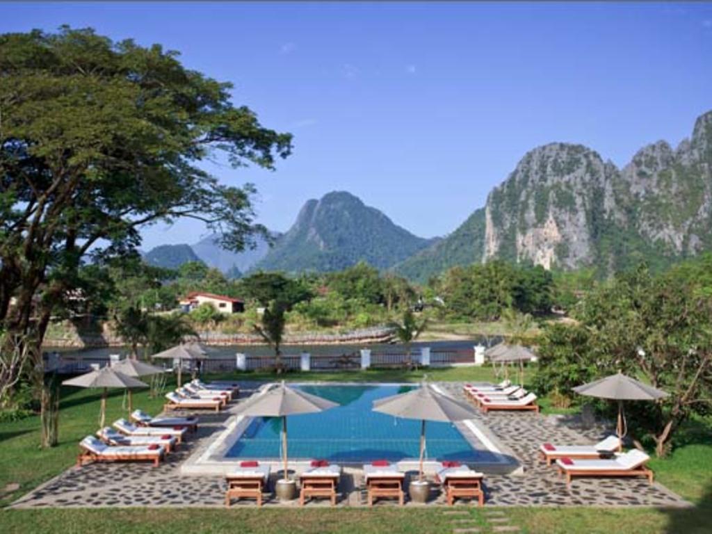Riverside Vang Vieng **** in Vang Vieng