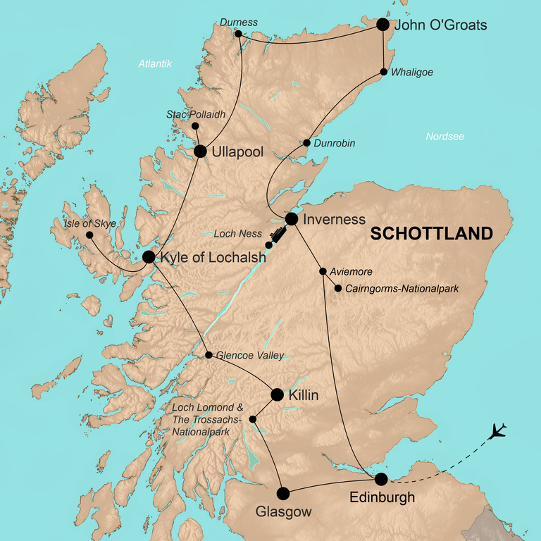 Schottland – Highlands and more