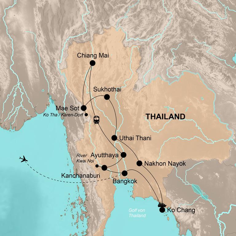 Thailand – Die große Reise durchs Königreich