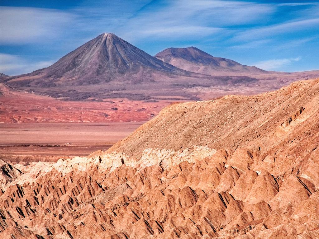 San Pedro de Atacama: Vormittag frei, nachmittags Besuch des Tals des Todes und des Mondtals