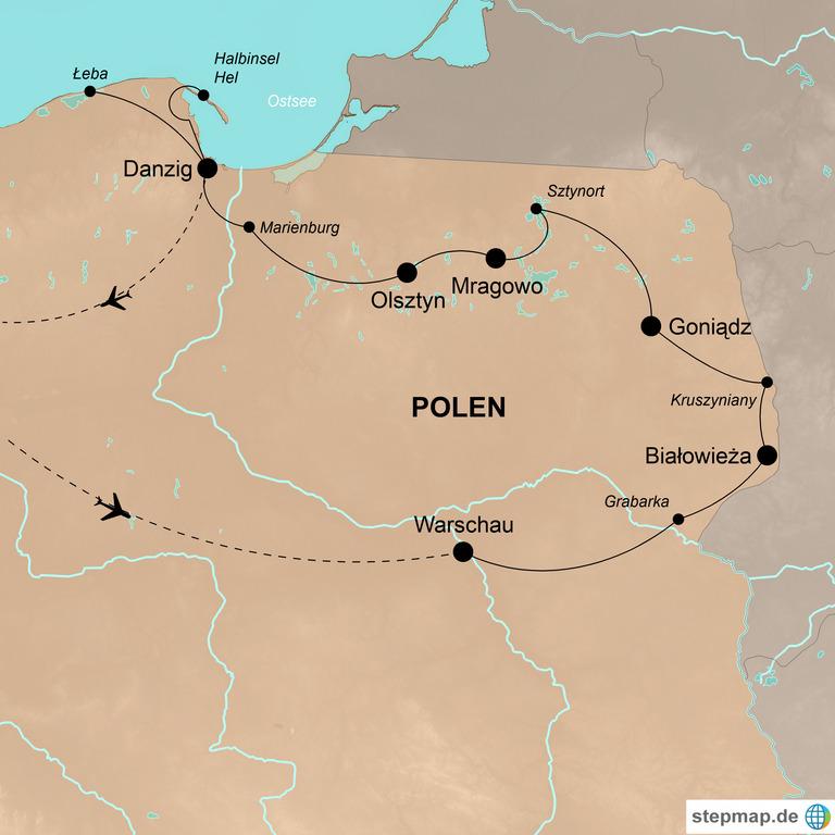 Polen – Die grüne Lunge Polens entdecken
