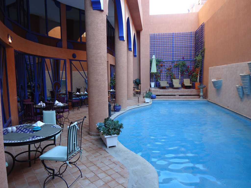 Hotel Les Trois Palmiers *** in Marrakesch