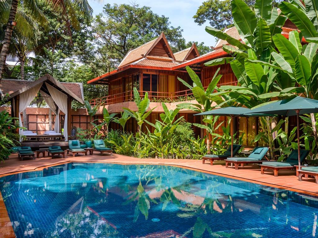 Hotel Angkor Village **** in Siem Reap