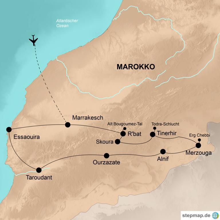 Marokko – Wo Märchen wahr werden