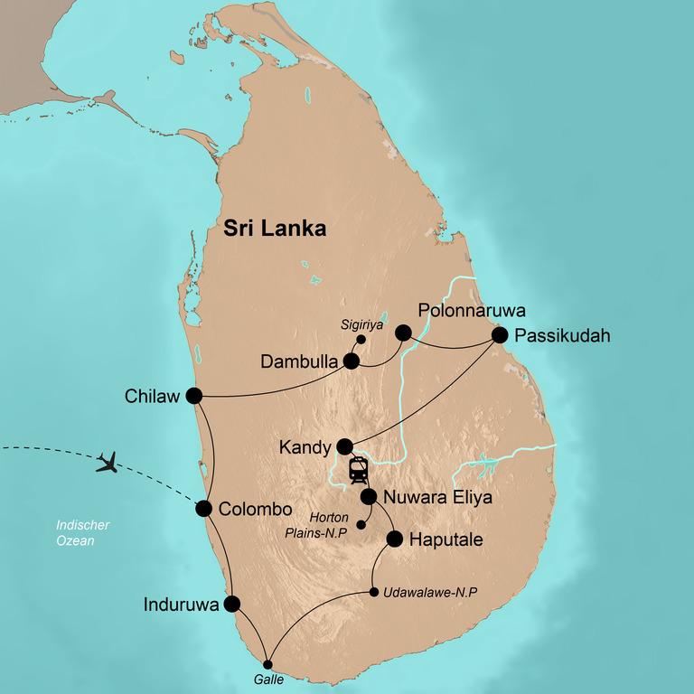 Sri Lanka – Die Perle des Indischen Ozeans