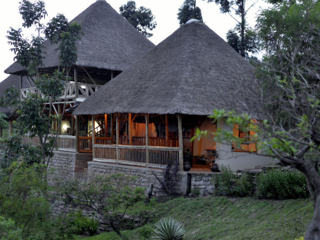 Enganzi Game Lodge *** in im Queen Elisabeth-Nationalpark