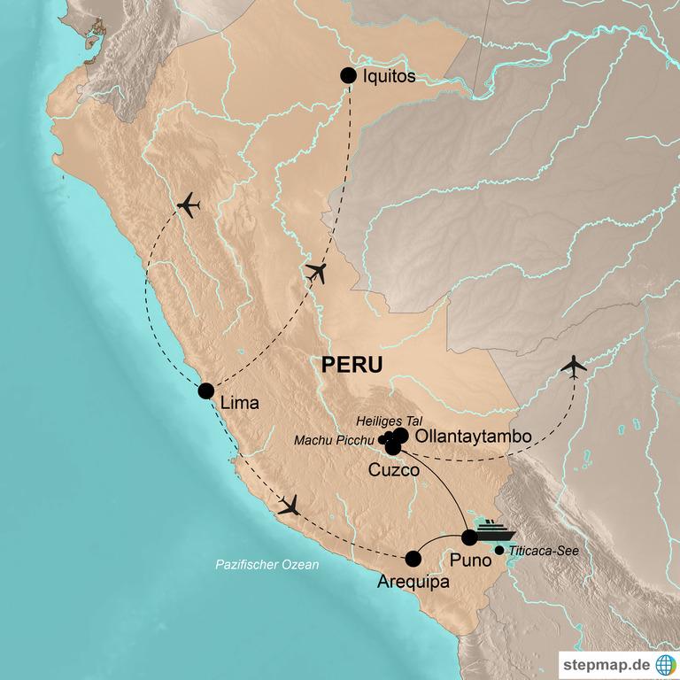 Peru – Höhepunkte Perus