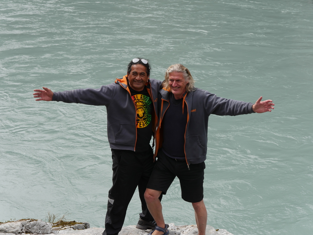 Unser Team in Neuseeland und Samoa