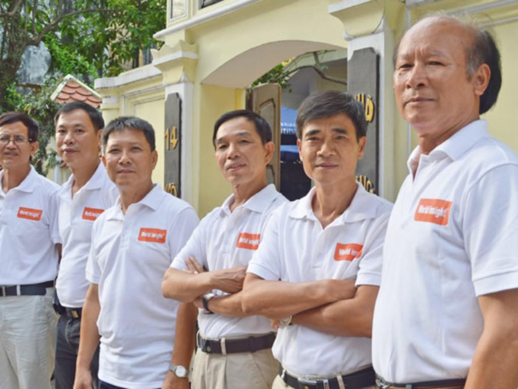 Unser Team in Vietnam