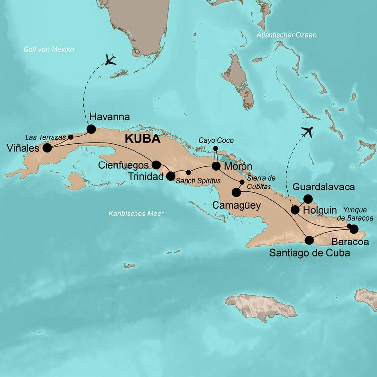 Kuba – Die umfassende Reise