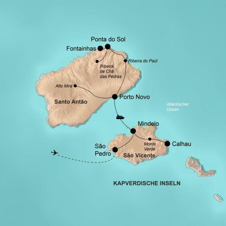 Kapverdische Inseln – Inselhopping für Abenteurer