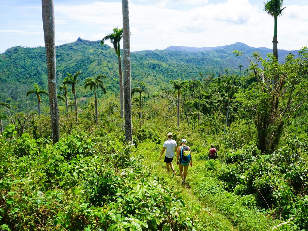 Santiago de Cuba – Baracoa: Wanderung zu den Los Monitongos, Stadtrundgang Baracoa mit Kreuz von Kolumbus