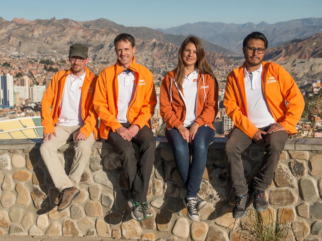 Unser Team in Bolivien