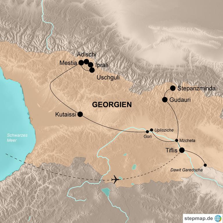 Georgien – Wanderparadies Kaukasus