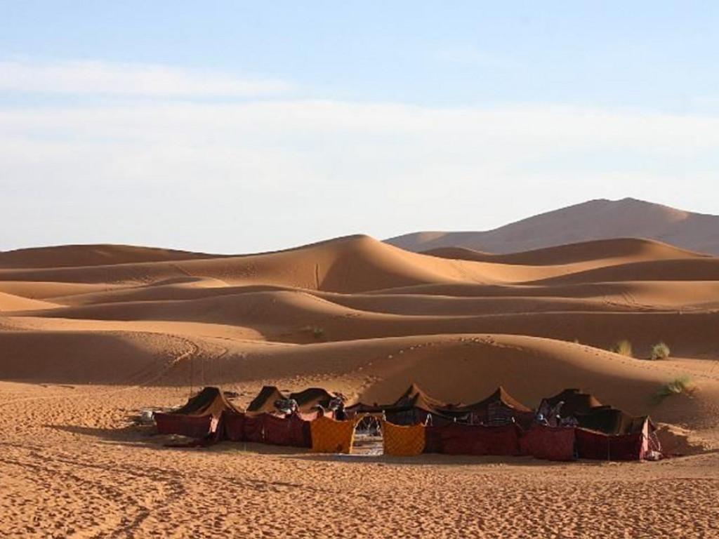 Beduinen-Camp bei Merzouga