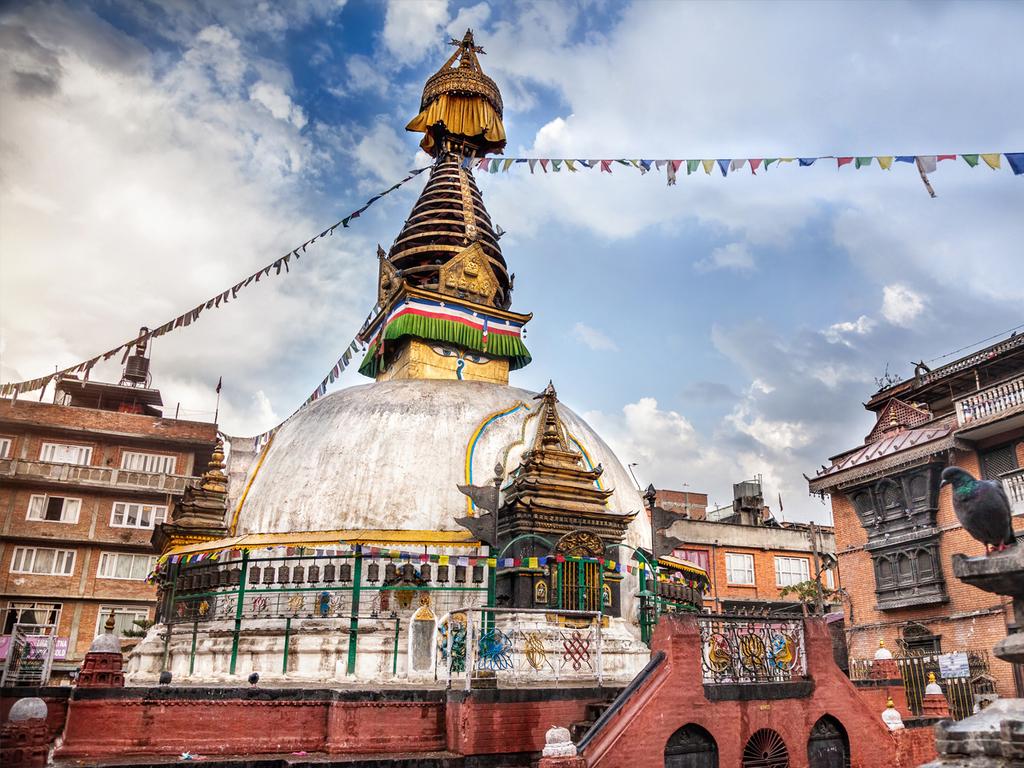 Kathmandu-Tal und Bhaktapur: Bodnath, Pashupatinath, Töpferplatz Thimi, Bummel durch Bhaktapur