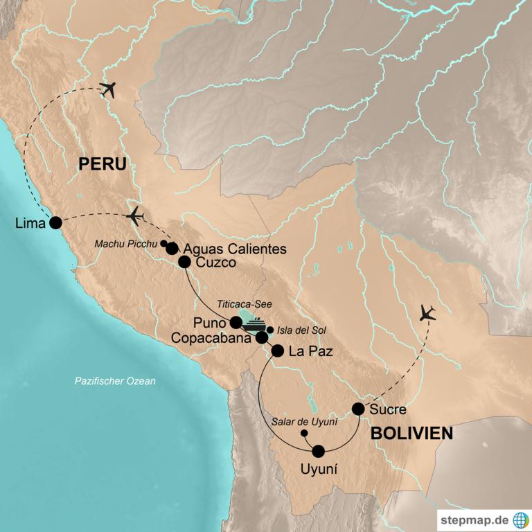 Bolivien und Peru – Aktiv durch das Inka-Reich
