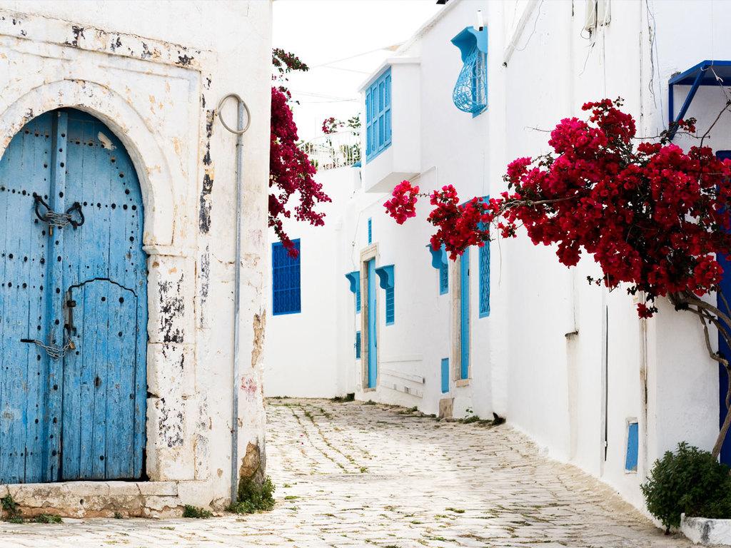 Tunis – Sidi Bou Said – Tunis: City Tour Tunis mit Zentralmarkt, Besichtigung Bardo-Museum, Besichtigung Sidi Bou Said