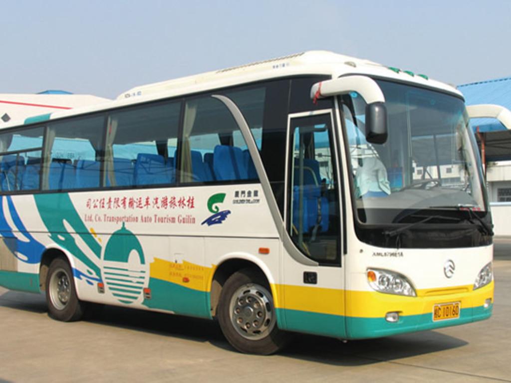 Einer unserer Busse in Usbekistan