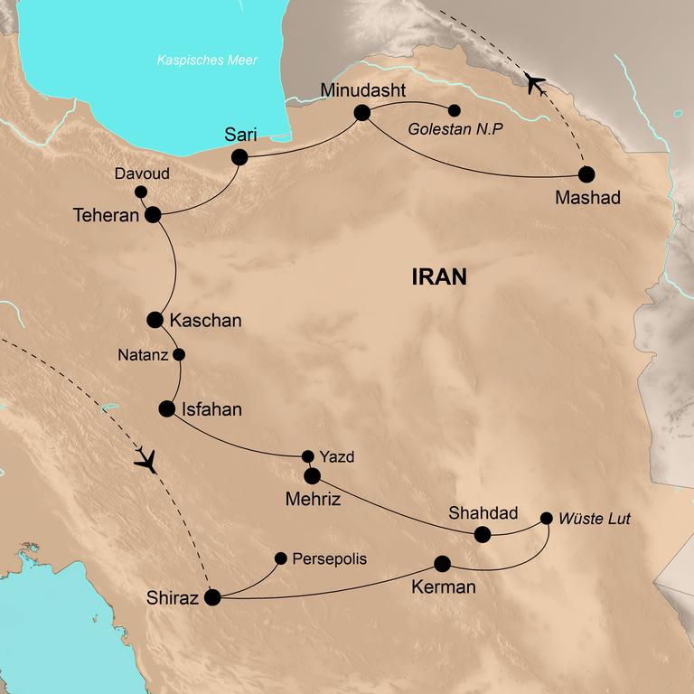 Iran – Das Juwel des Orients
