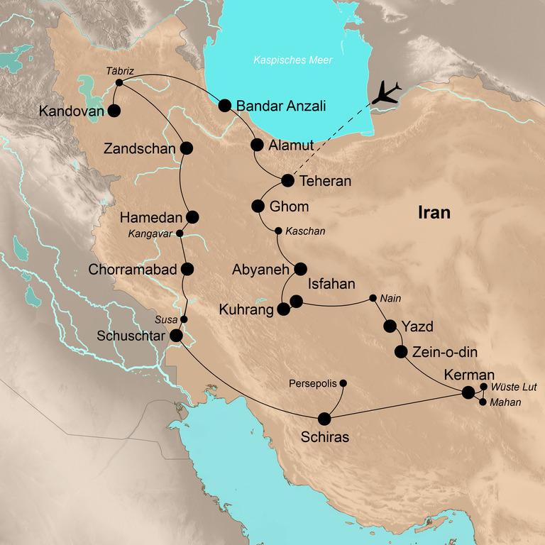 Iran – Die umfassende Reise