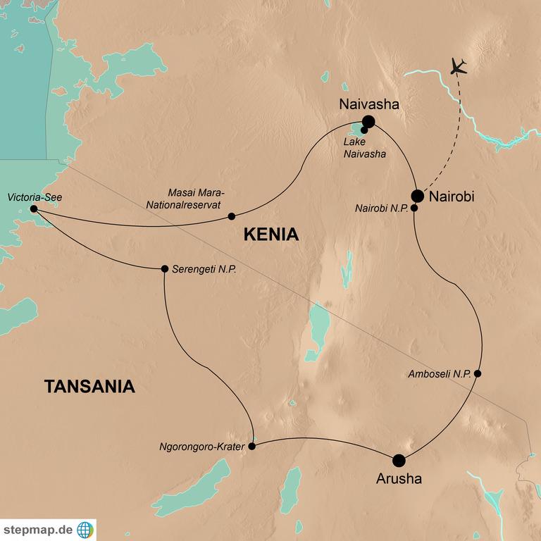 Kenia und Tansania – Die Highlights kompakt erleben