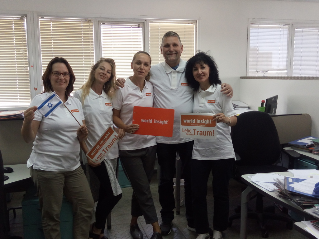Unser Team in Israel