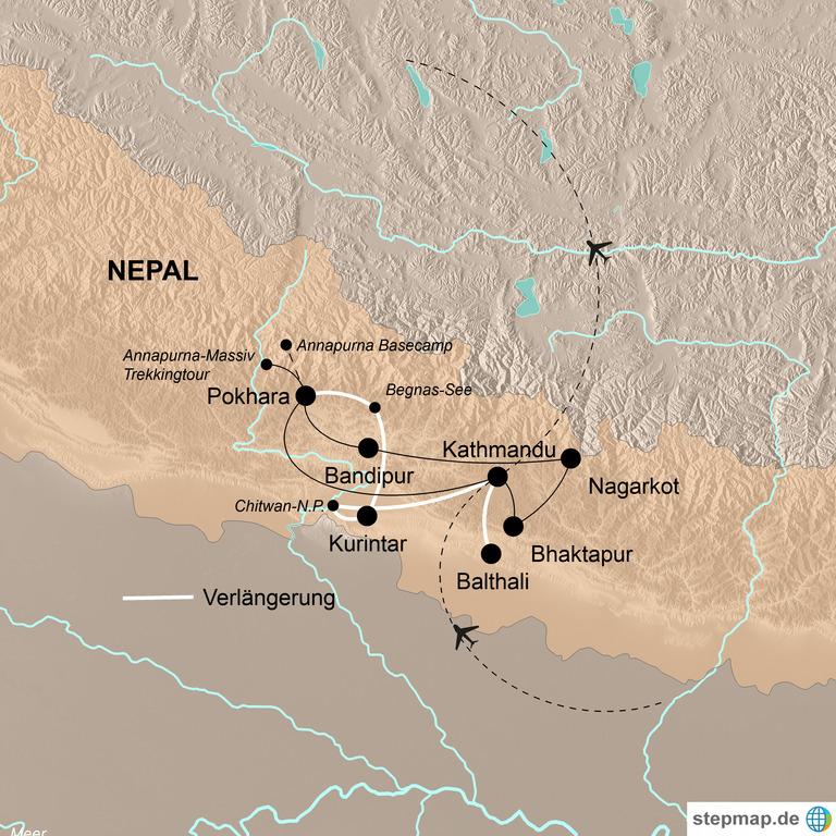 Nepal – Den Göttern ganz nahe