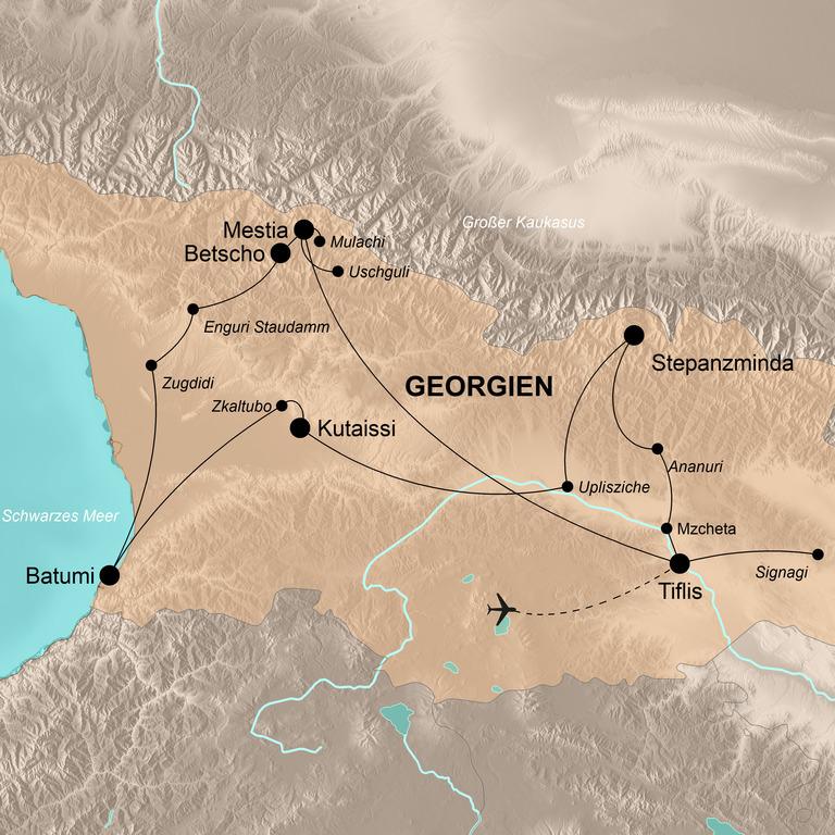 Georgien – Das neuentdeckte Land