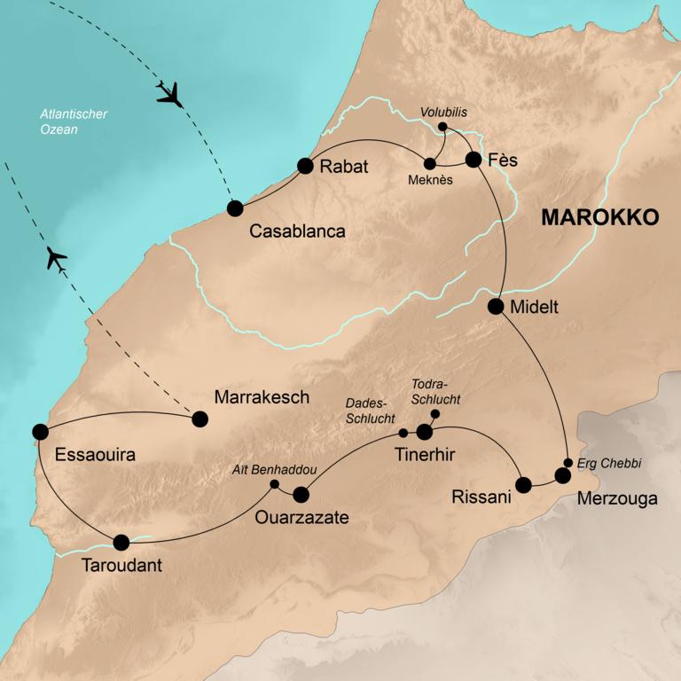 Marokko – Der ganze Zauber des Orients
