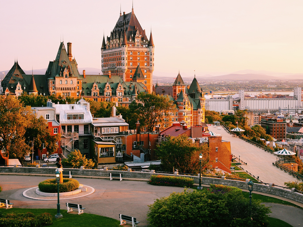 Quebec: mit der Fähre nach Levis, Spaziergang in der Altstadt