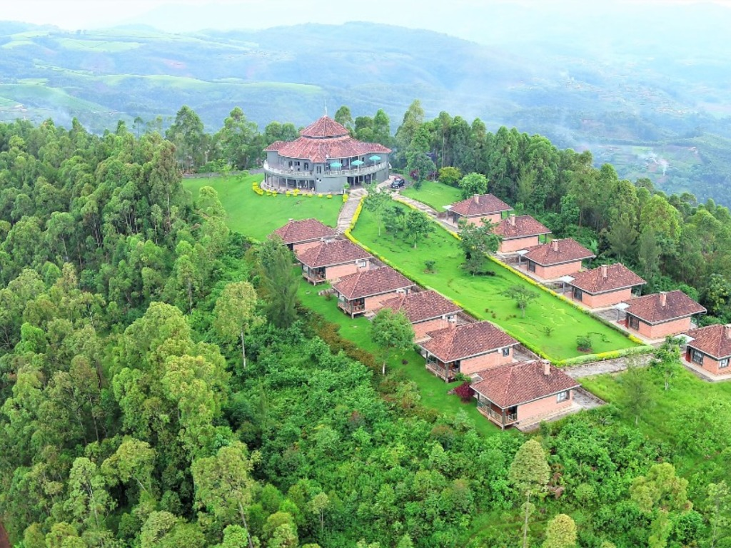 Nyungwe Top View Hill **(*) Nyungwe Top View Hotel