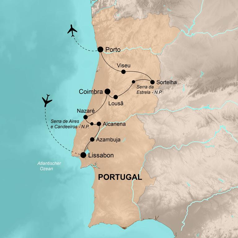Portugal – Unentdeckte Attraktionen zwischen Lissabon und Porto