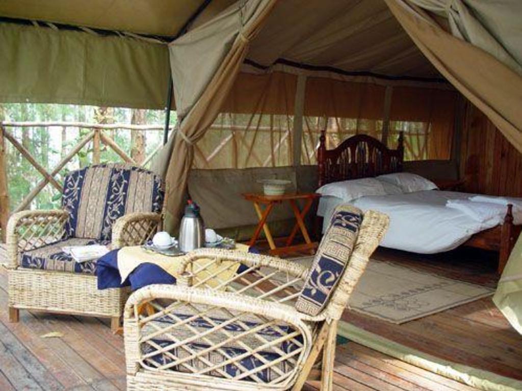 Heritage Lodge **(*)  auf einer Insel im Bunyonyi-See