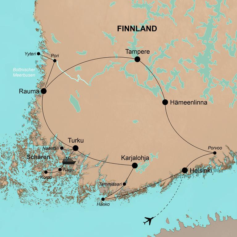 Finnland  – Im Land der tausend Seen
