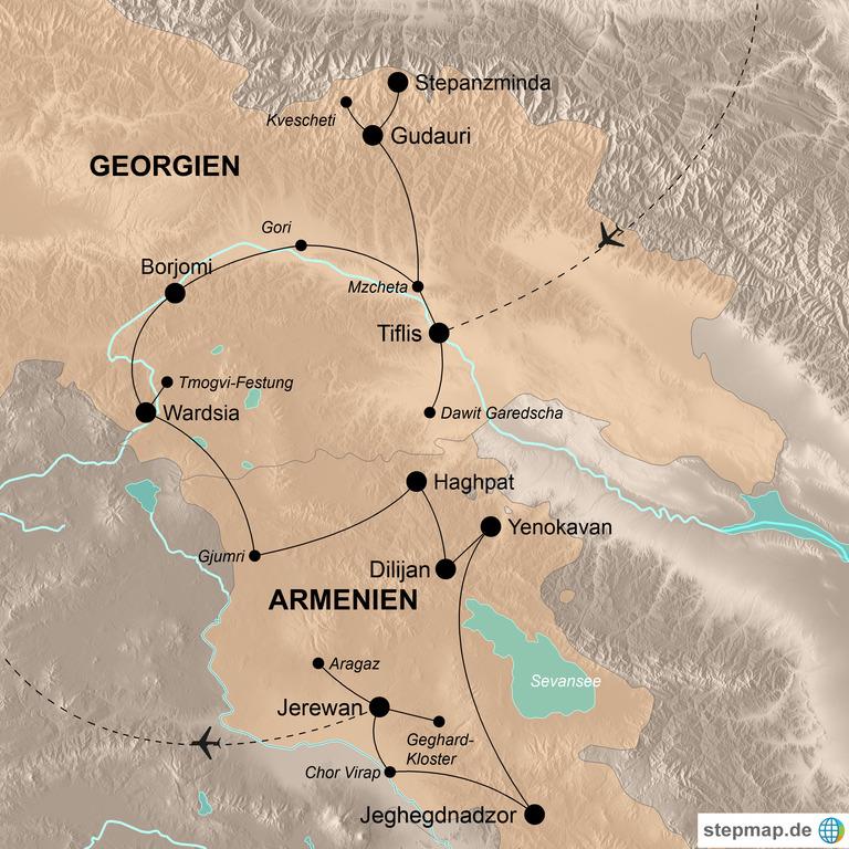 Georgien und Armenien – Gebirgsabenteuer im wilden Kaukasus
