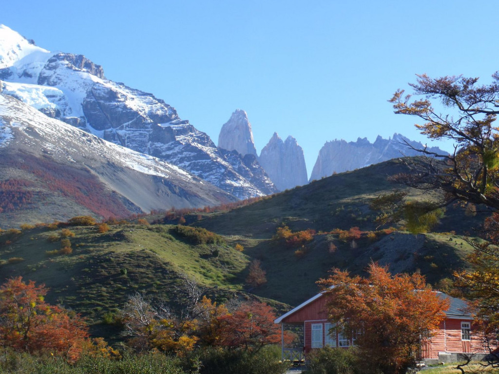 Refugio Torres Central  im Torres del Paine Nationalpark